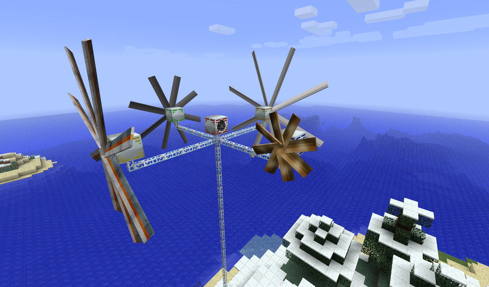 Industrial Craft  Windmill